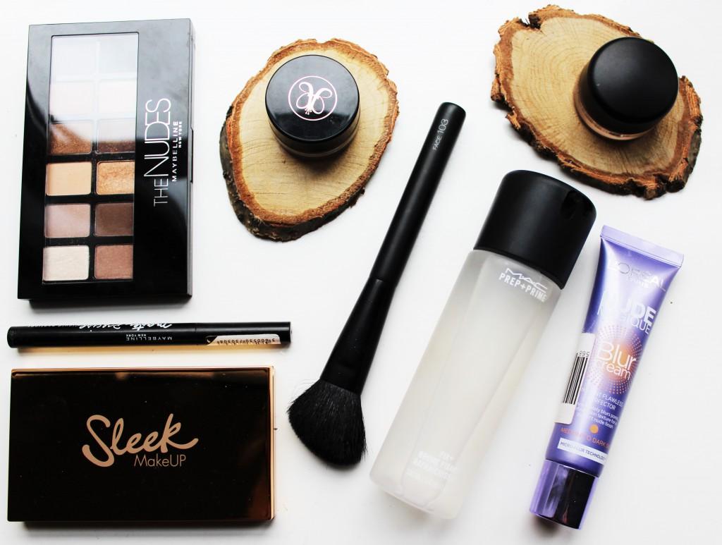 make-up volgorde