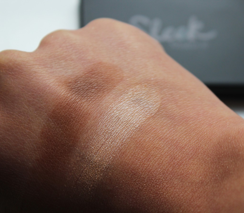 Sleek contour kit swatches