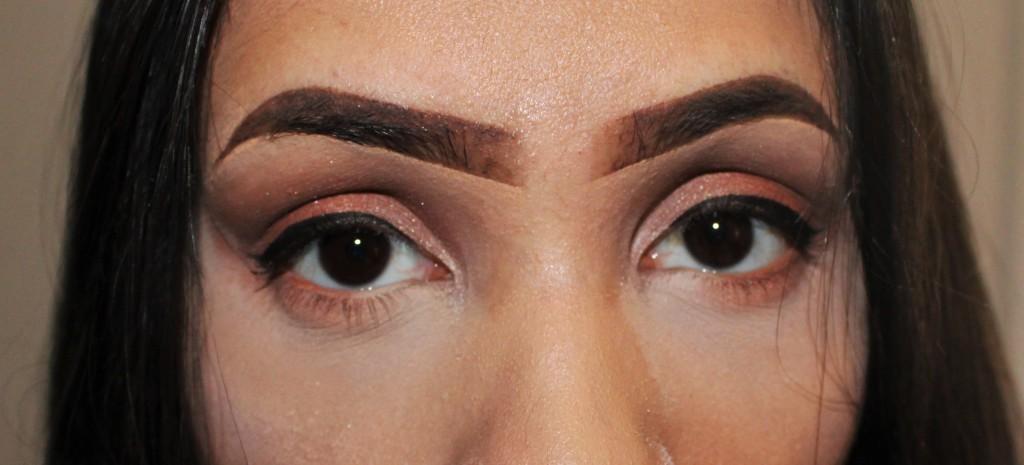make-up miskopen look