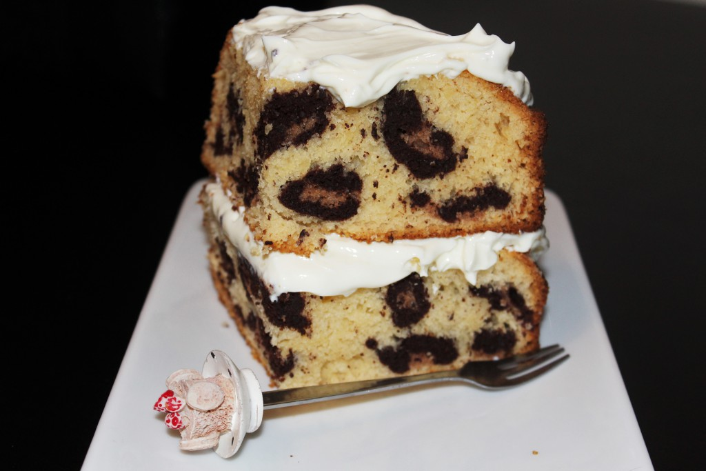 luipaard print cake