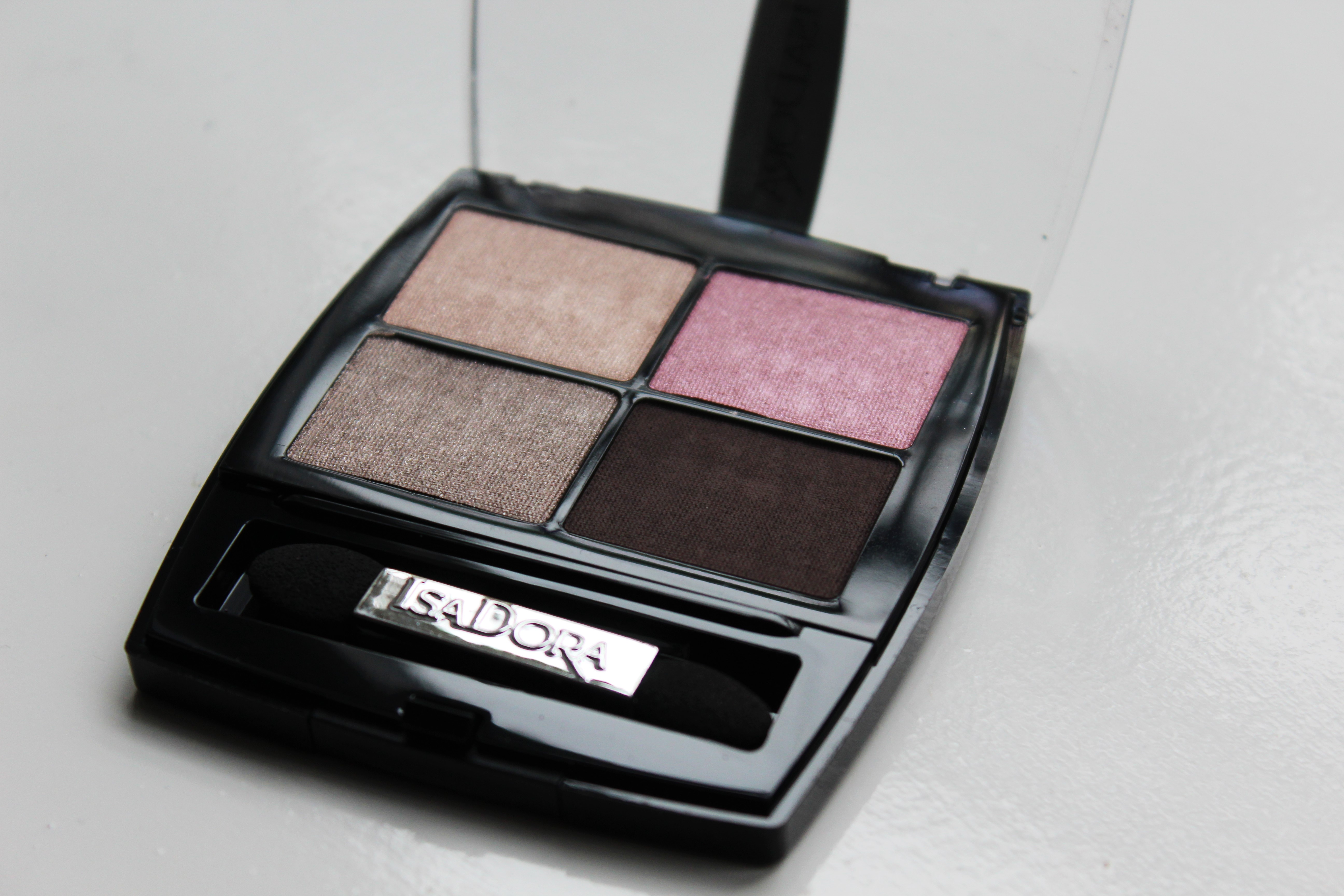 IsaDora Nude Rose Quartet | Review & look
