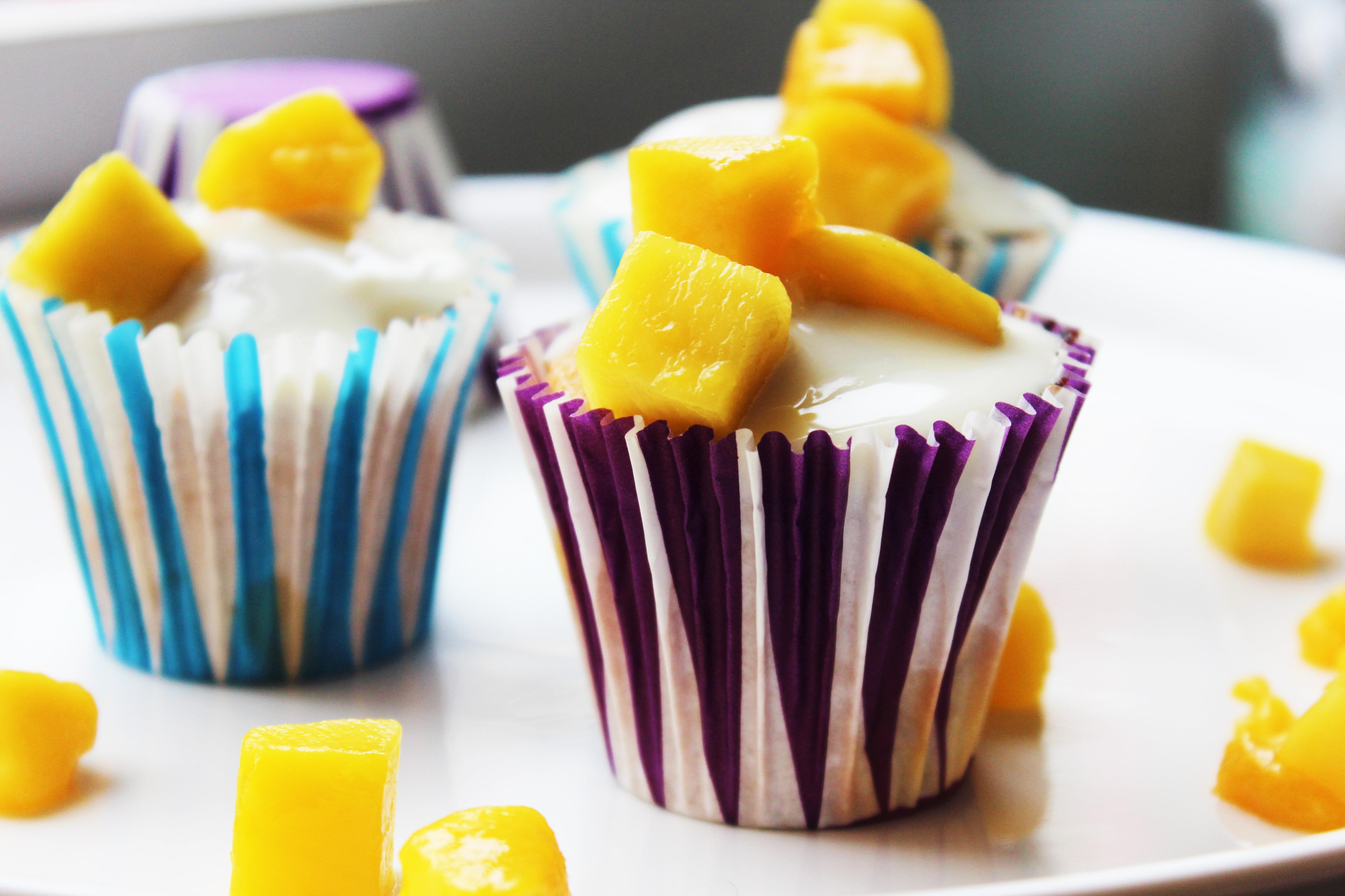 Mango cupcakes | Recept