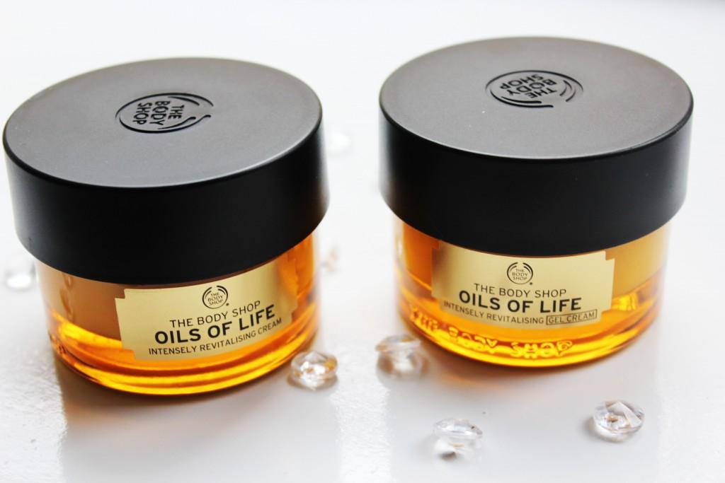 The Body Shop Oils of Life Cream Gel Cream