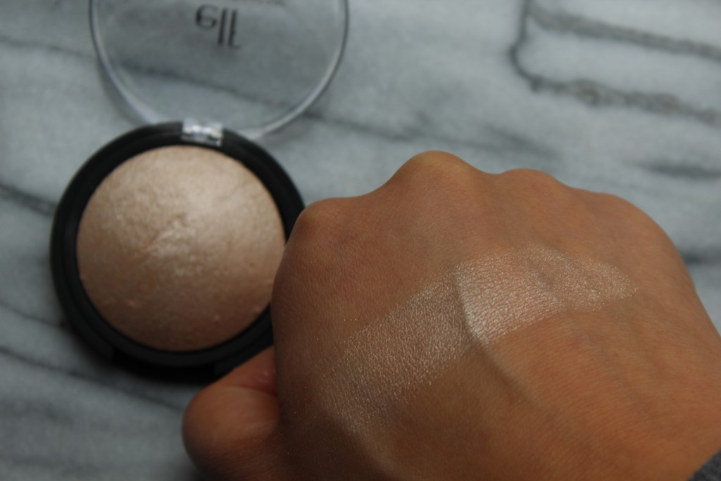 elf review highlighter baked moonlight pearls review