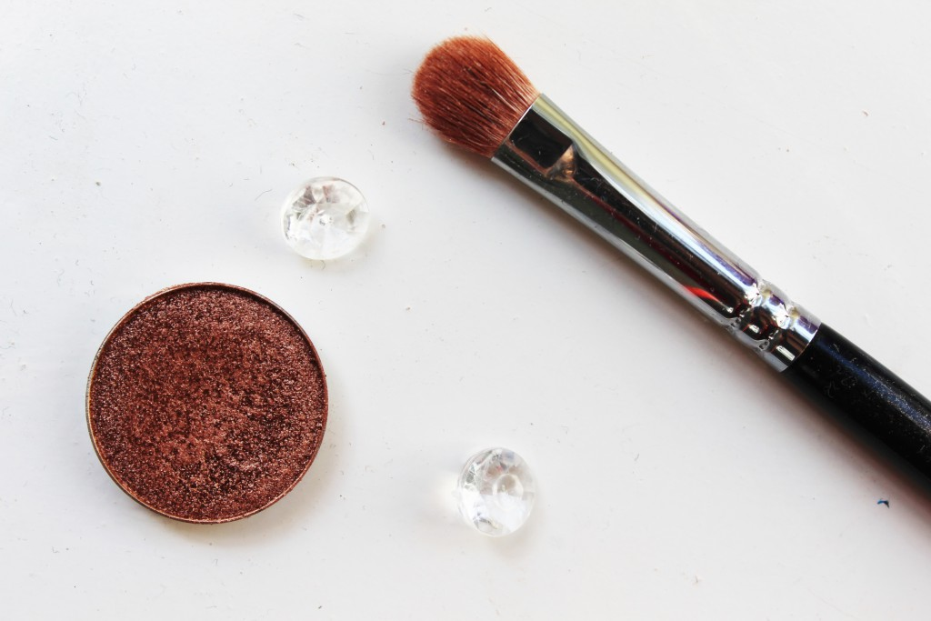 Makeup Geek foiled eyeshadow Grandstand