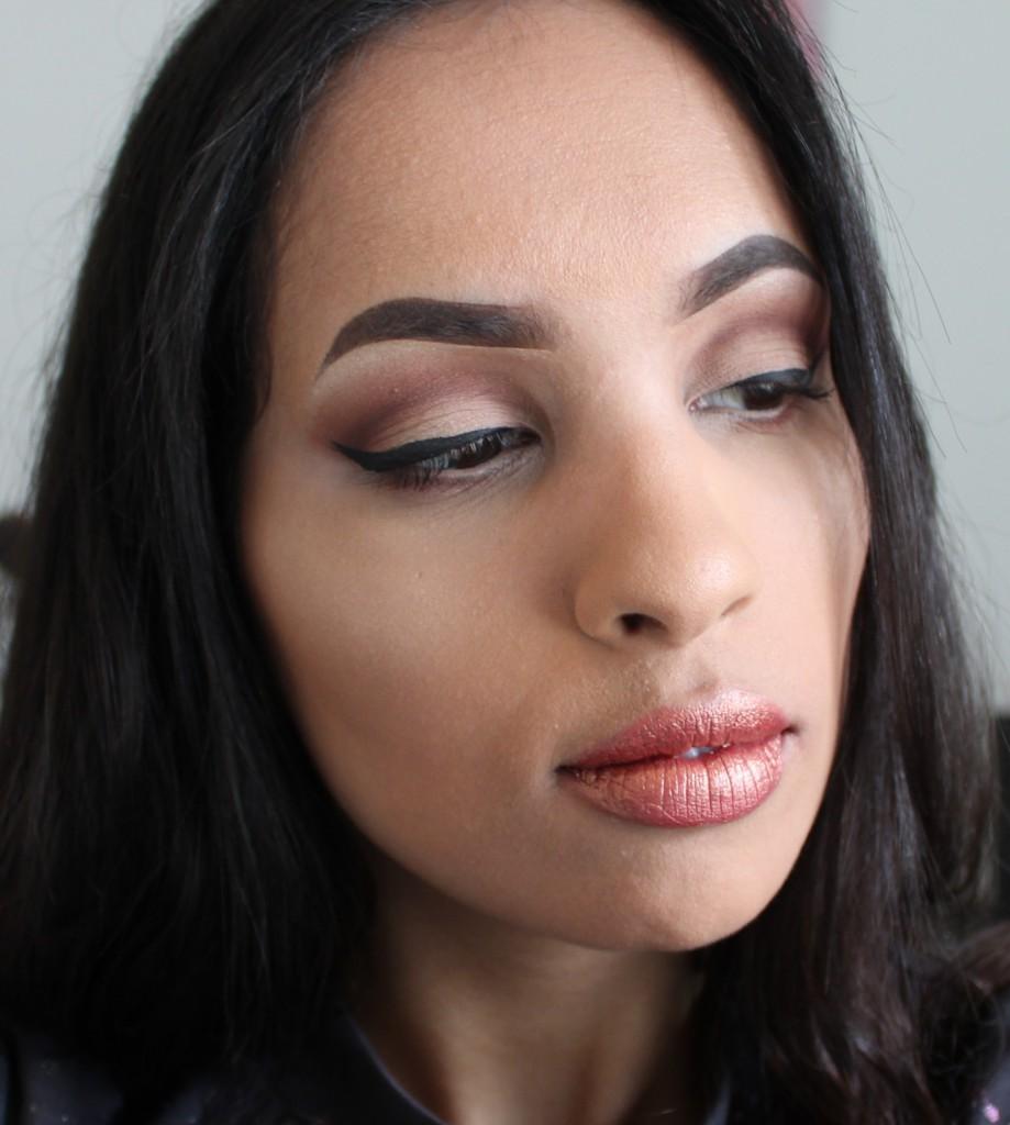 lipstick maken van oogschaduw