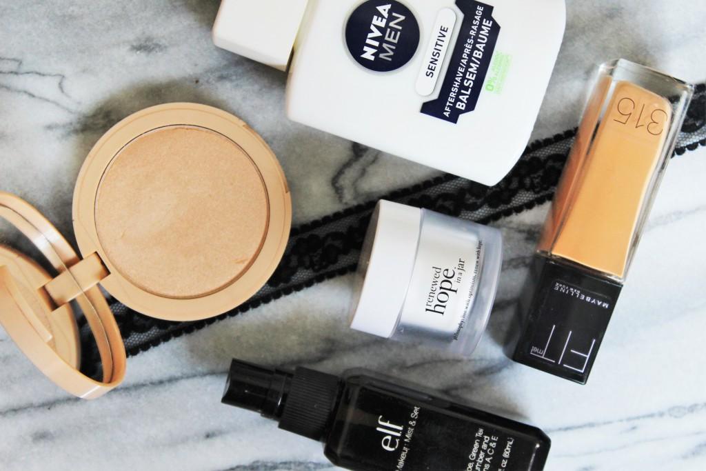 make-up droge huid