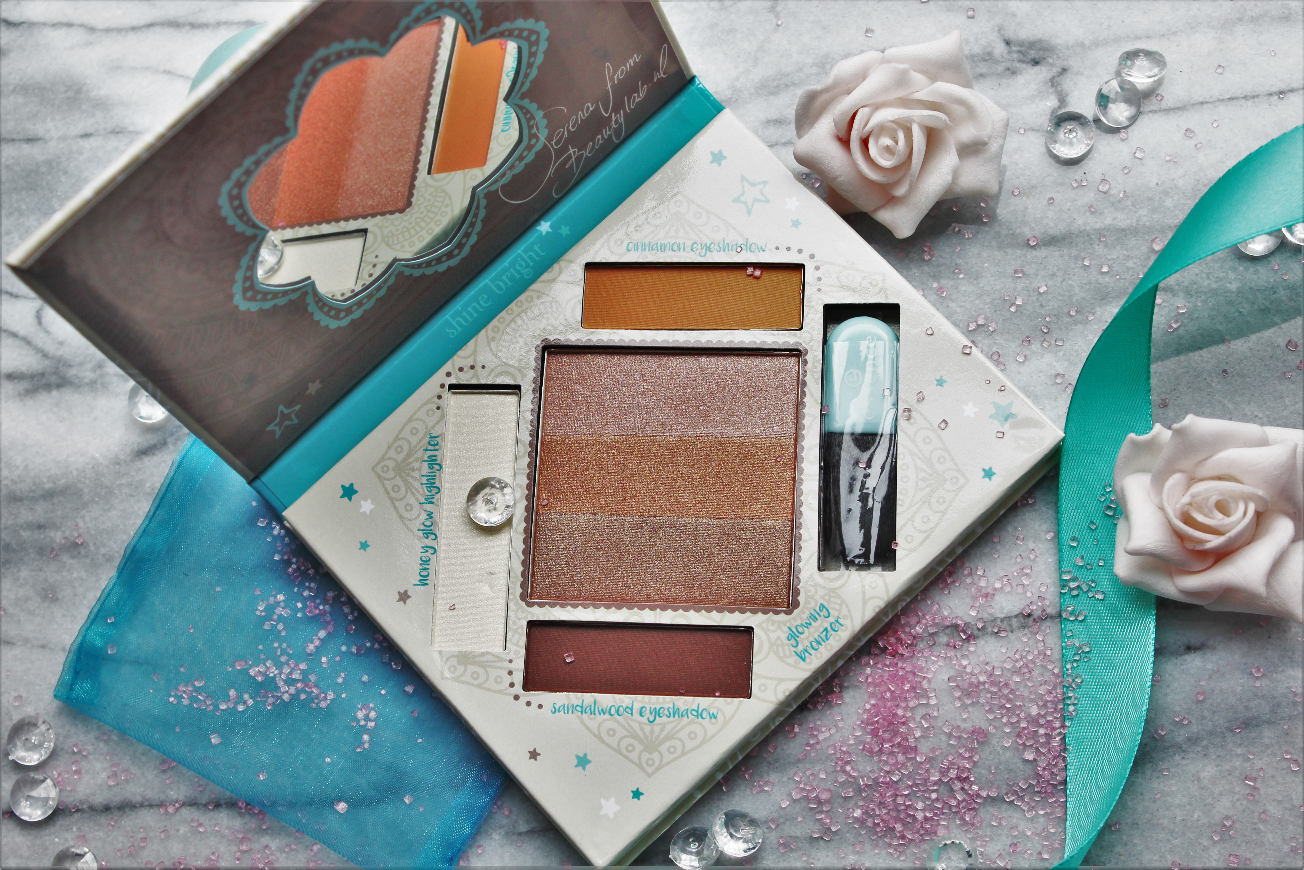The Glow must go on | Essence x Beautylab palette review & look