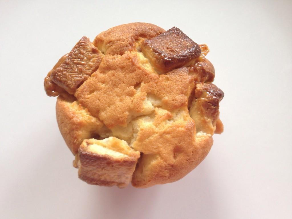 White Twix cupcake