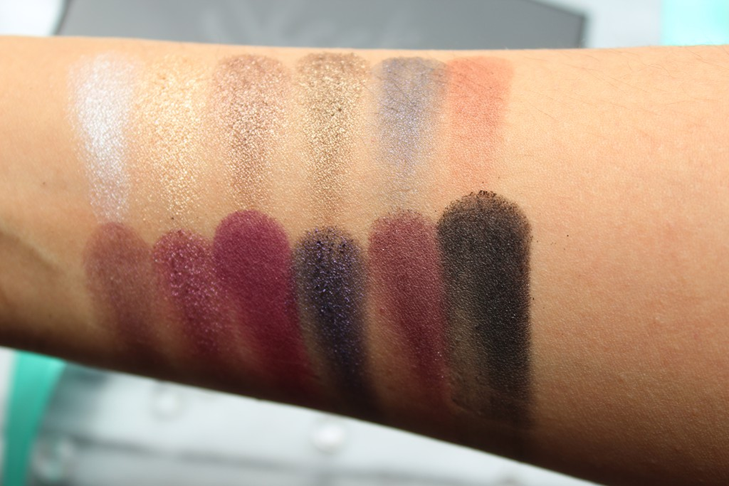 Sleek vintage romance swatches review