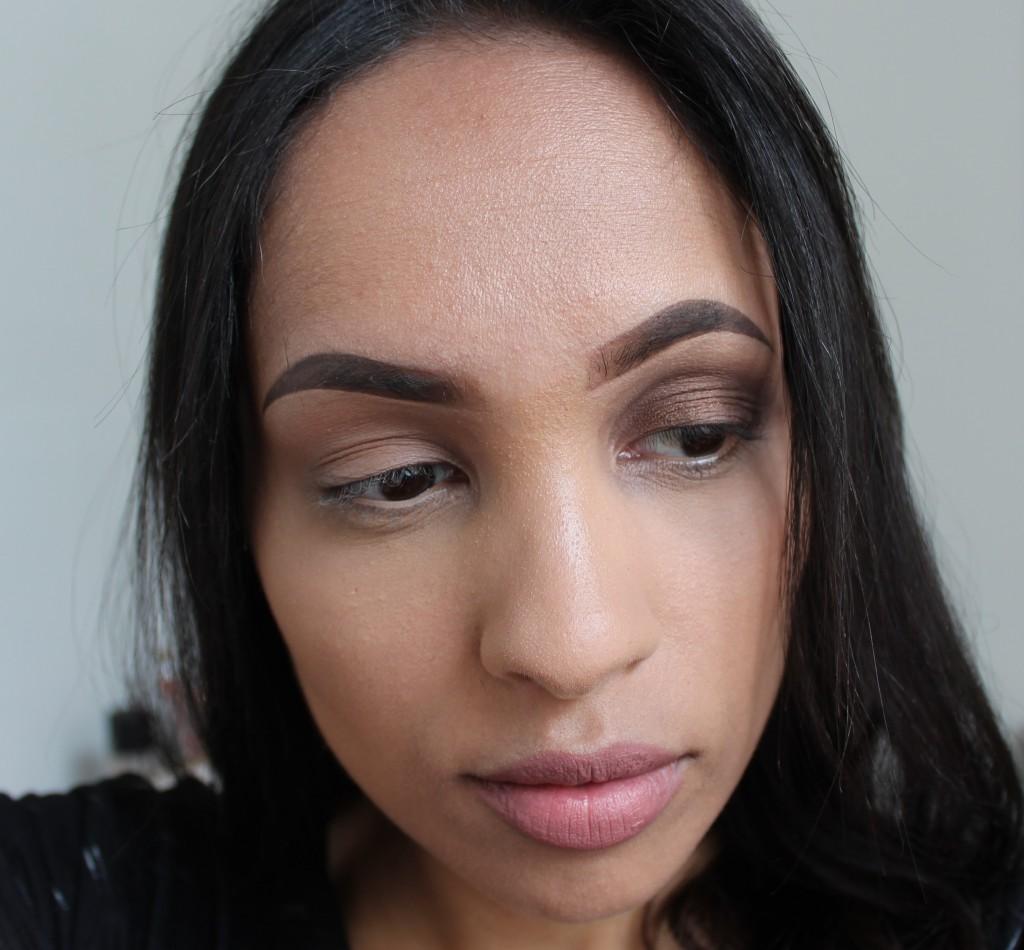 super makkelijke oogschaduw makeup look
