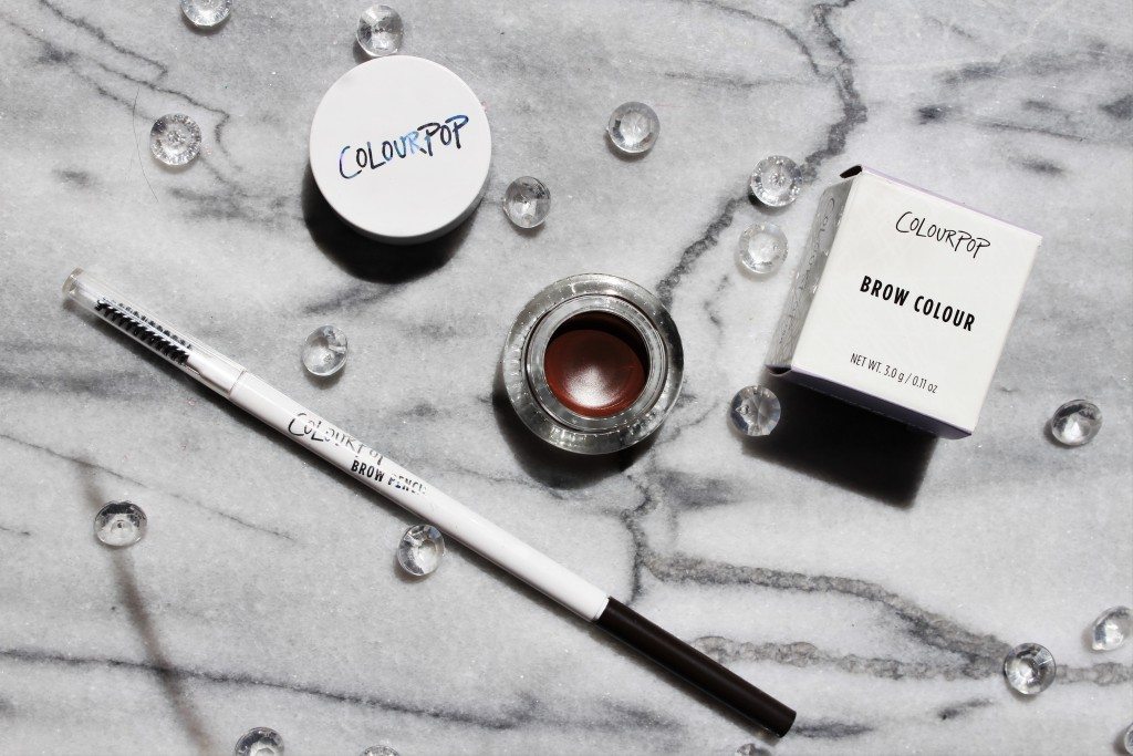 Colourpop Brow Colour and Brow Pencil review