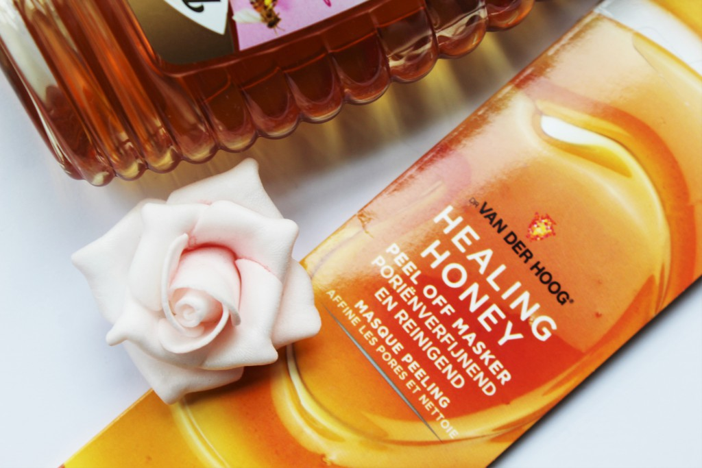 dr van der hoog healing honey masker