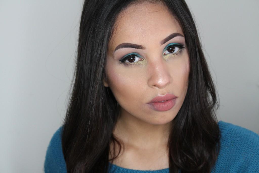 Jeffree Star Cosmetics Beauty Killer palette look