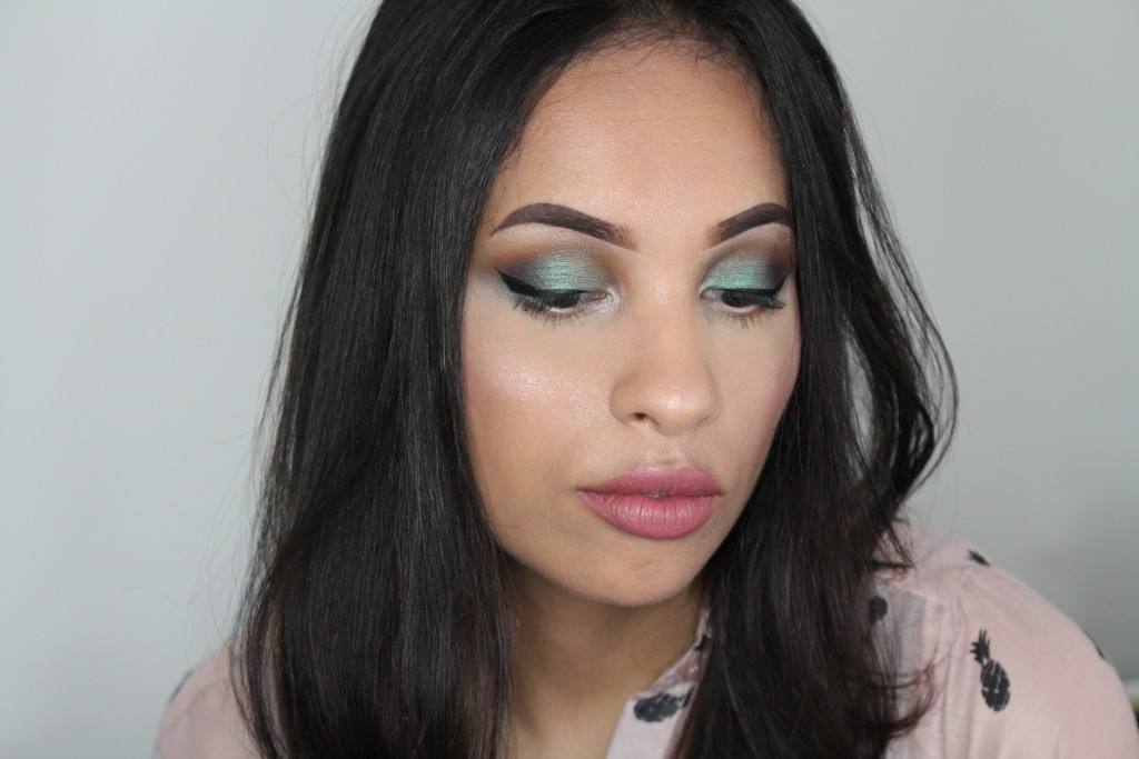 Colourpop Stingraye makeup look