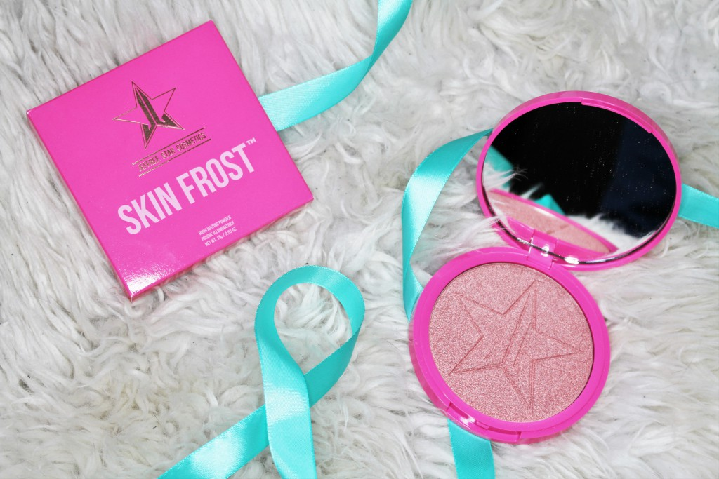Jeffree Star Cosmetics Skinfrost Peach Goddess review
