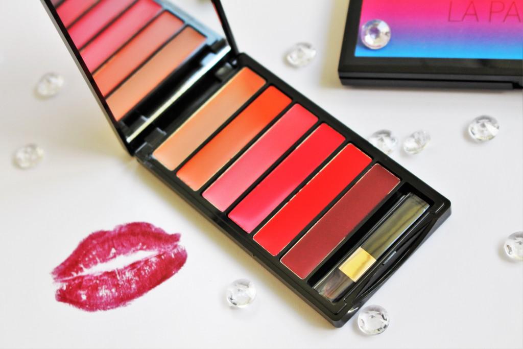 L'oreal Paris La Palette Glam lipstick review