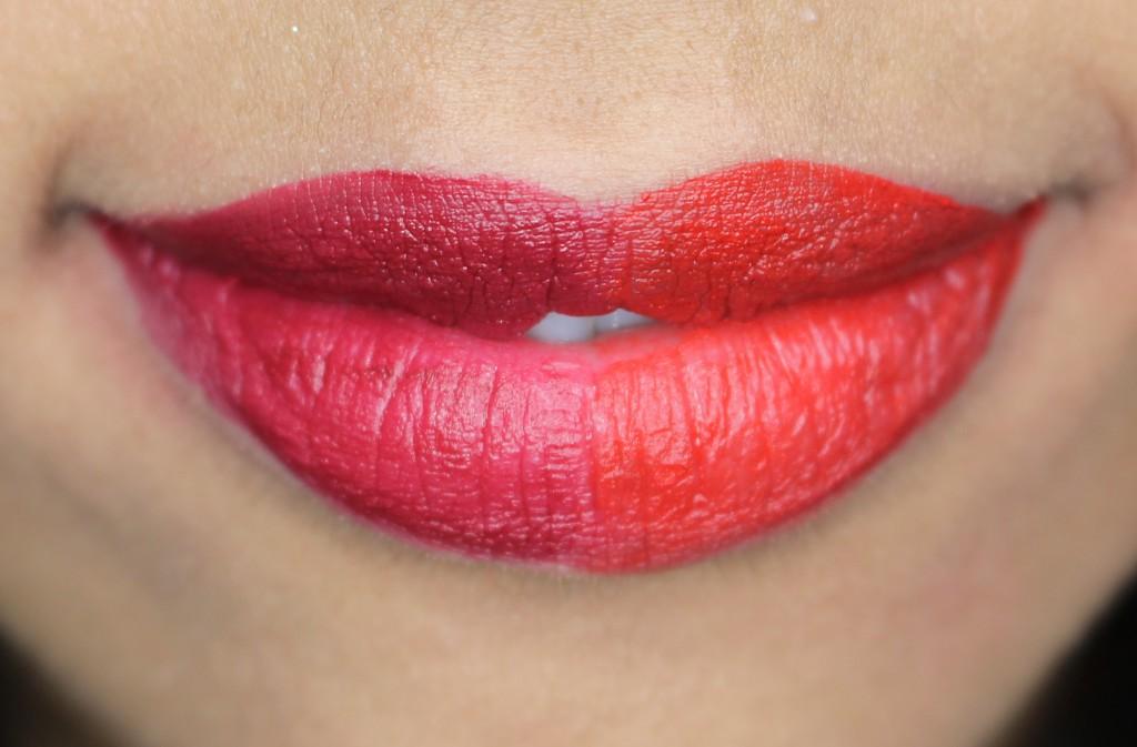 L'oreal paris la palette glam lipswatches