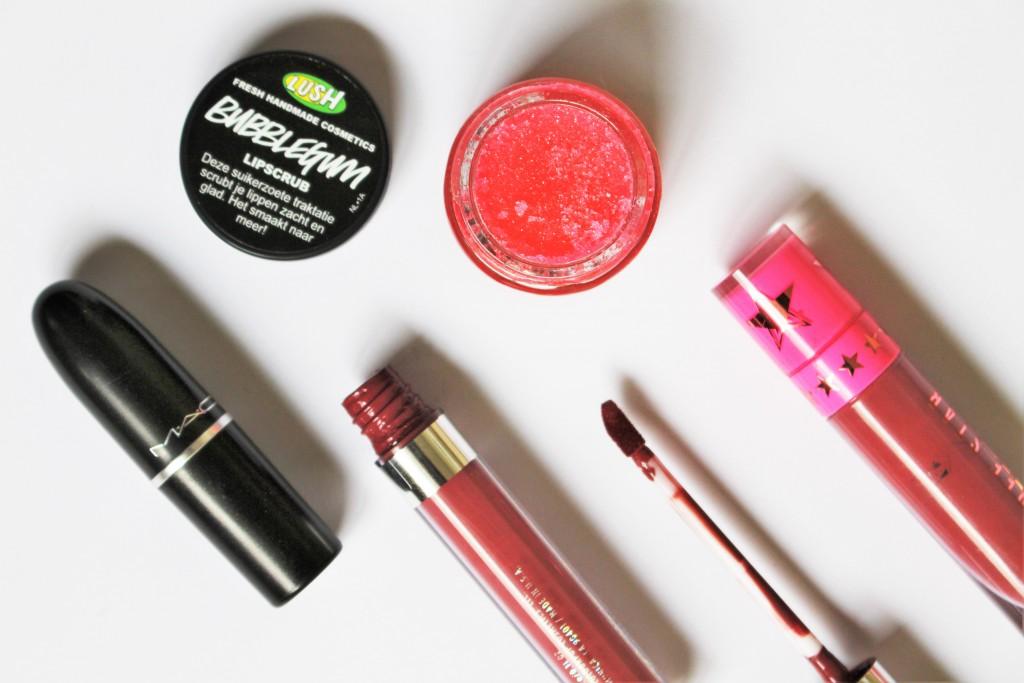 matte lipstick droge lippen