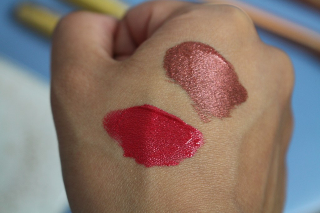 milani mattallics review liquid lipstick