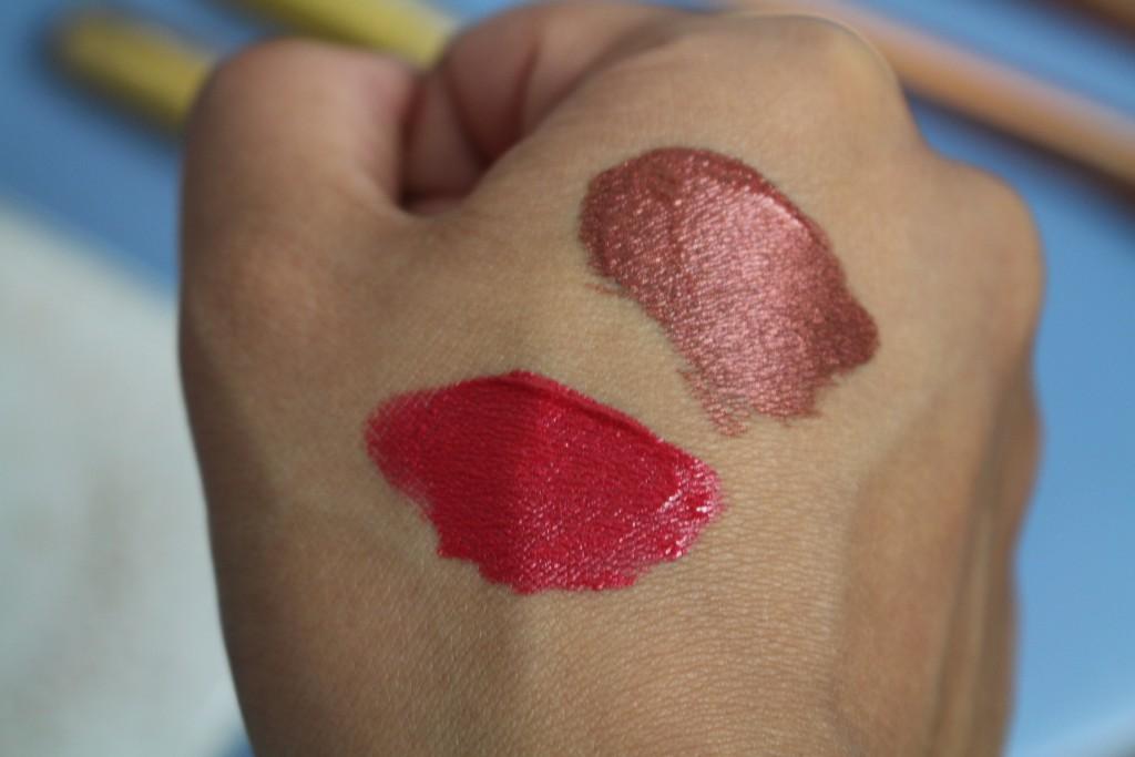 milani mattallics review liquid lipstick
