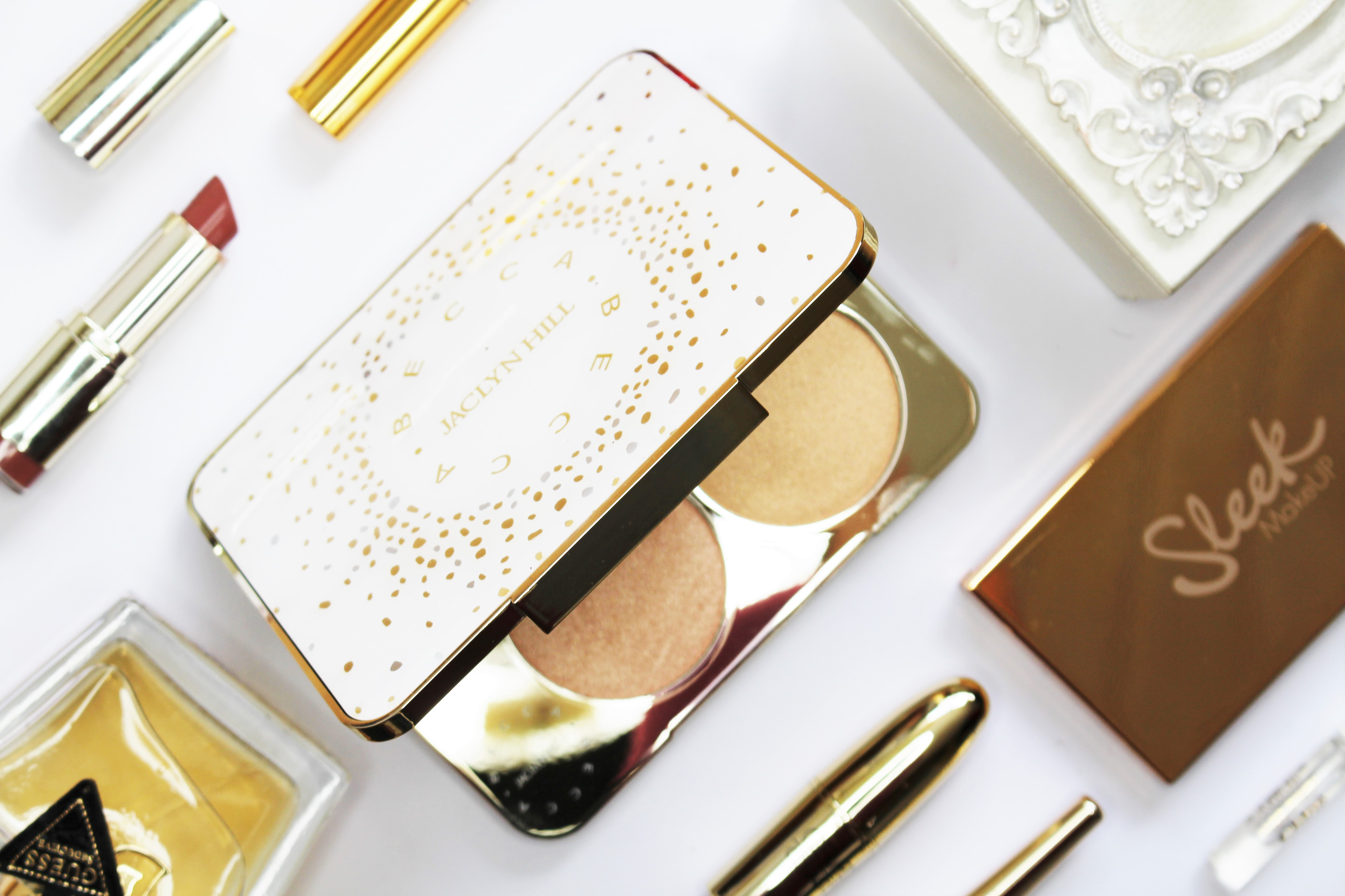 Becca x Jaclyn Hill Champagne Collection Face Palette | review