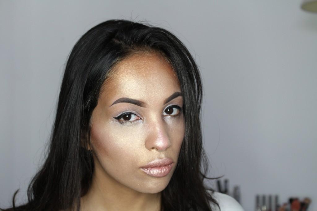 makeup highlighter challenge