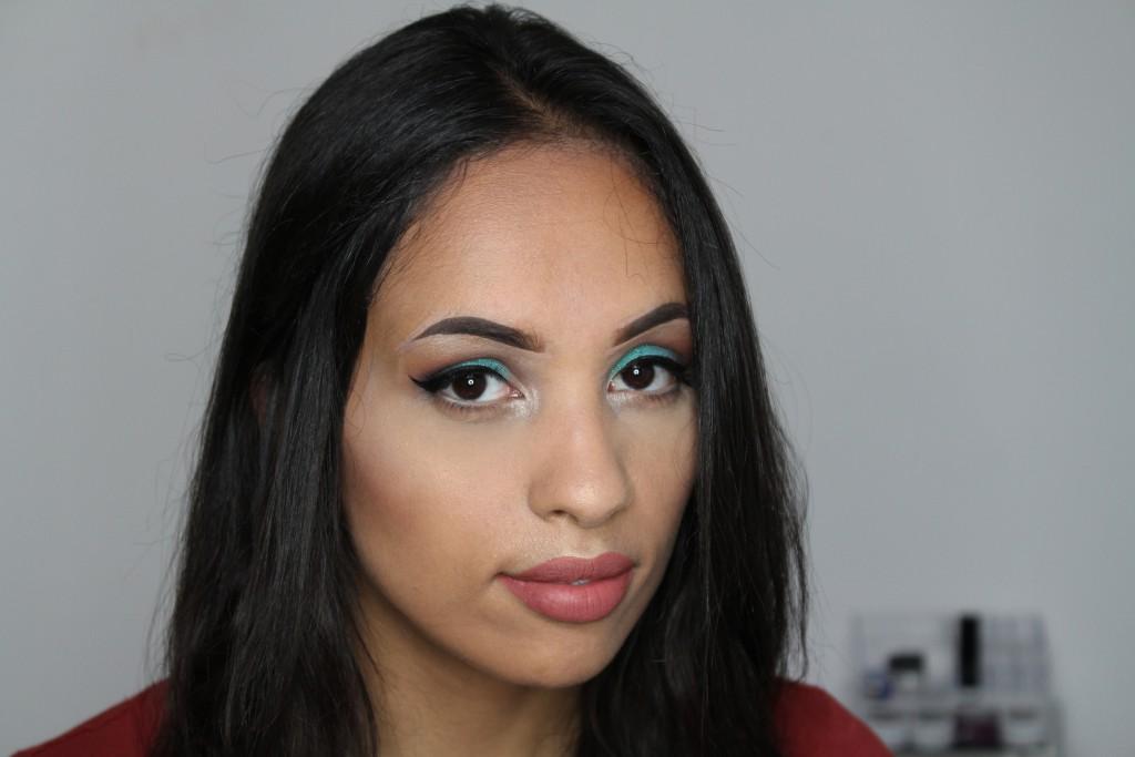 makeup look Colourpop Ibiza review