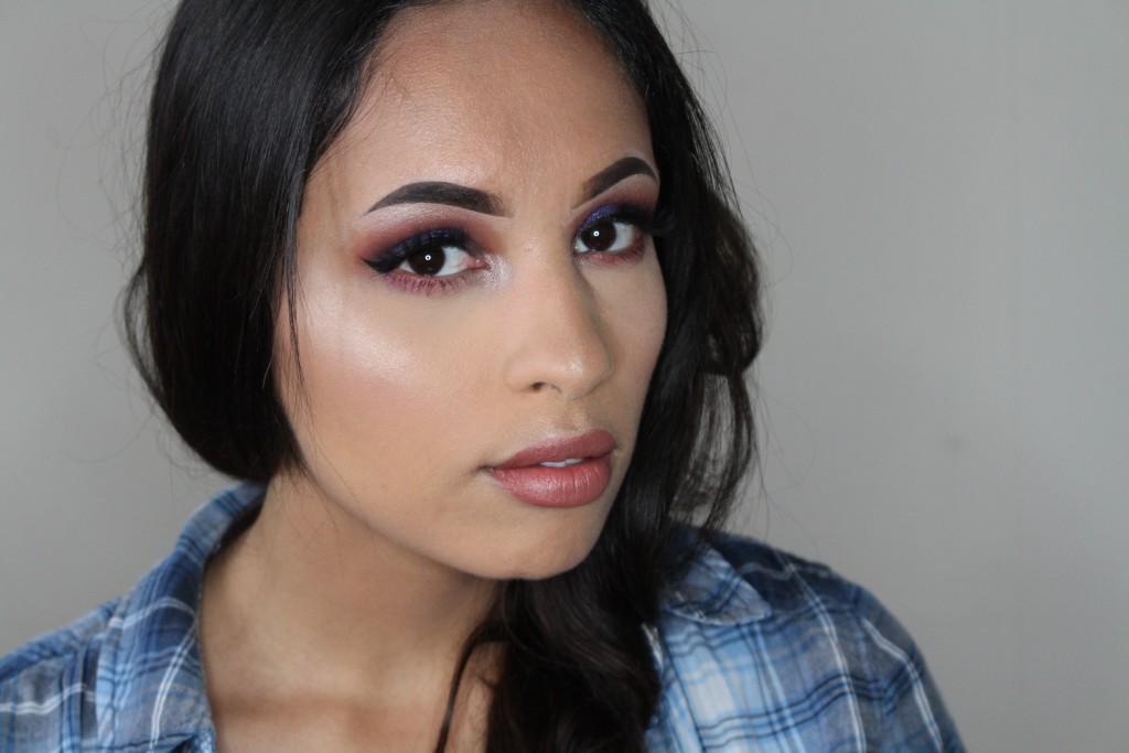 colourpop lace makeup look