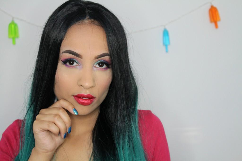zeemeermin mermaid makeup wig