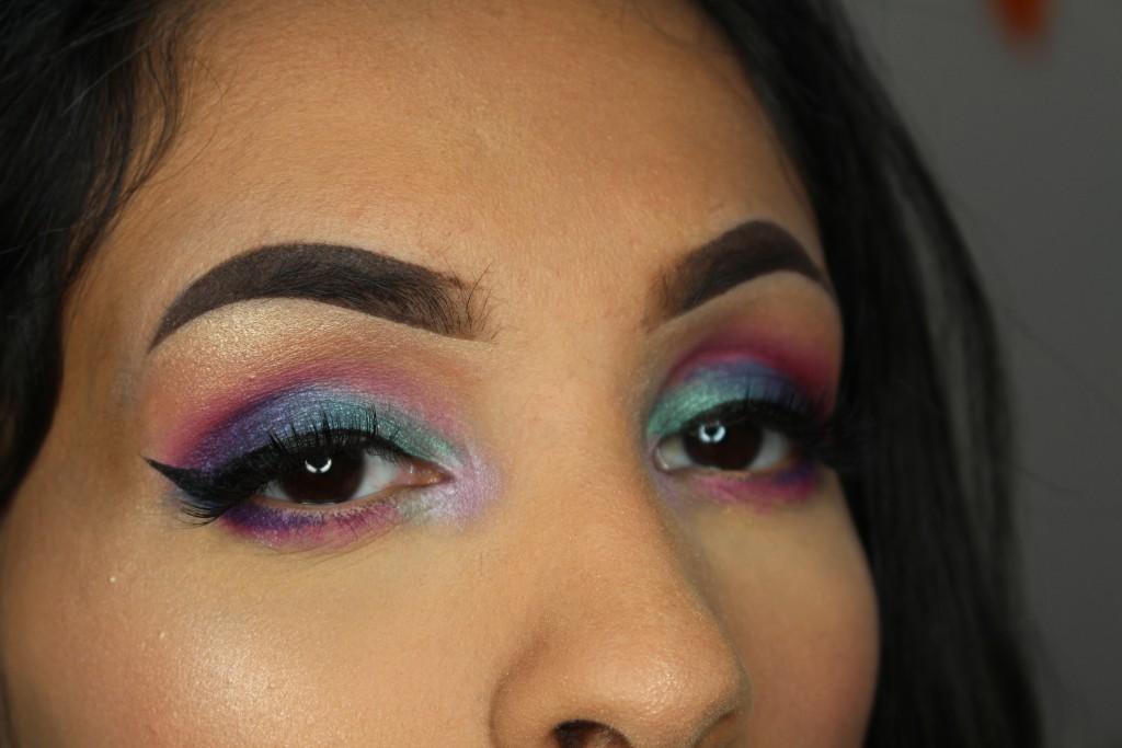 mermaid zeemeermin makeup look