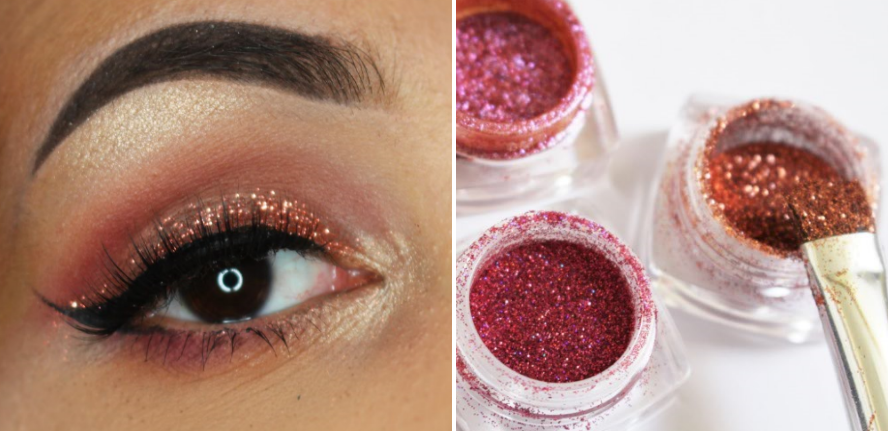 Glitters voor beginners | make-up look