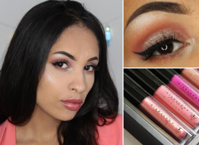 Make-up look | glans & glitter