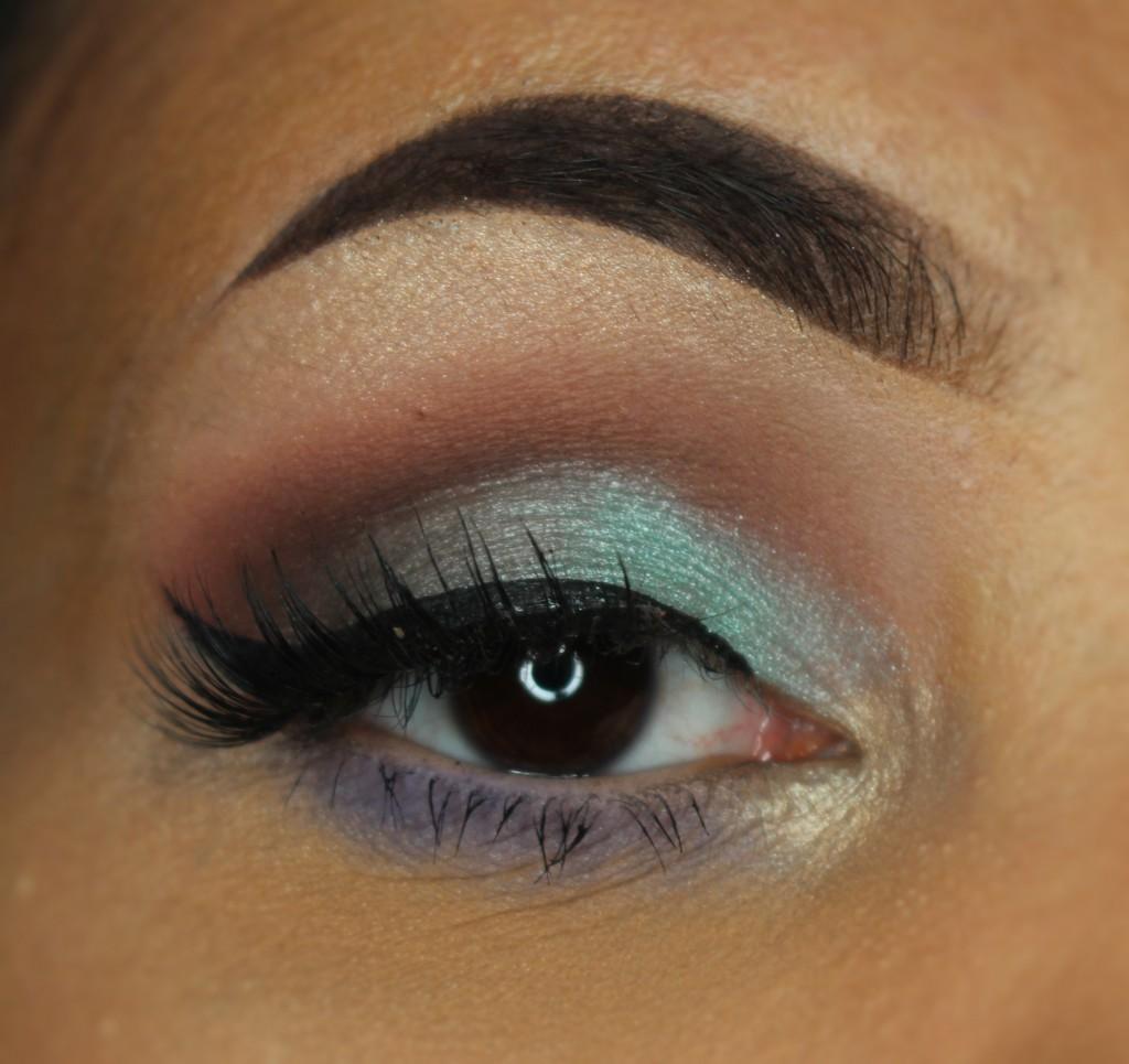 Dose of Colors Eyescream eye makeup look