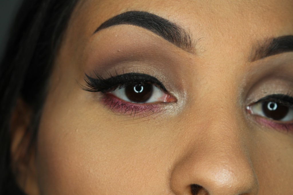Too Faced Grand Hotel Café review make-up look