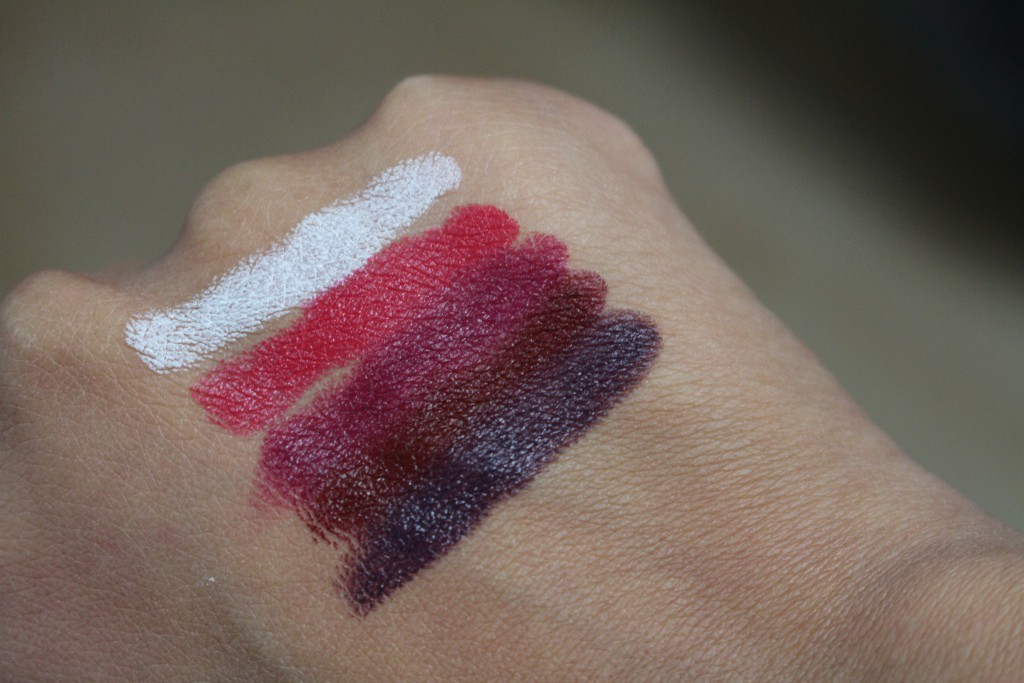 maybelline loaded bolds swatches