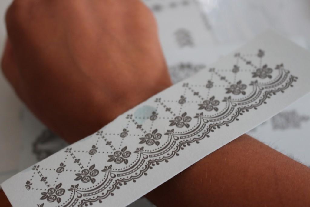 witte henna tattoo tutorial