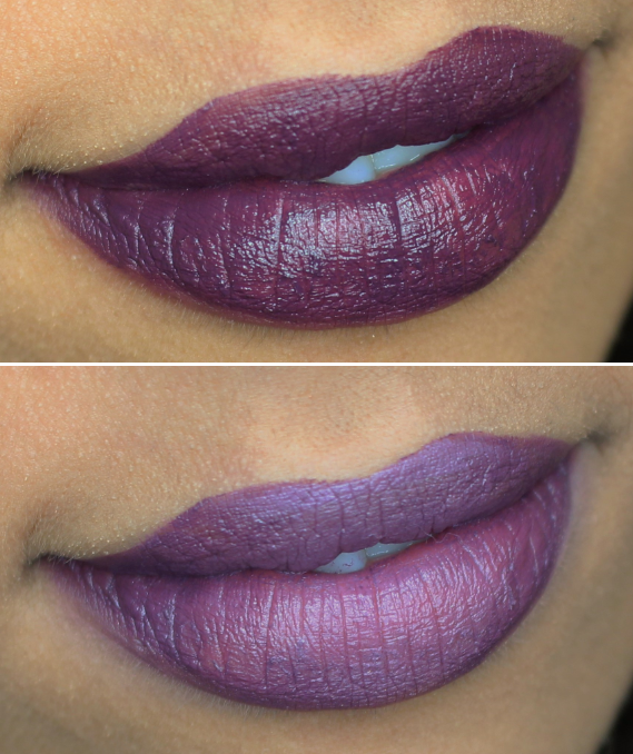 maybelline blackest berry review swatch