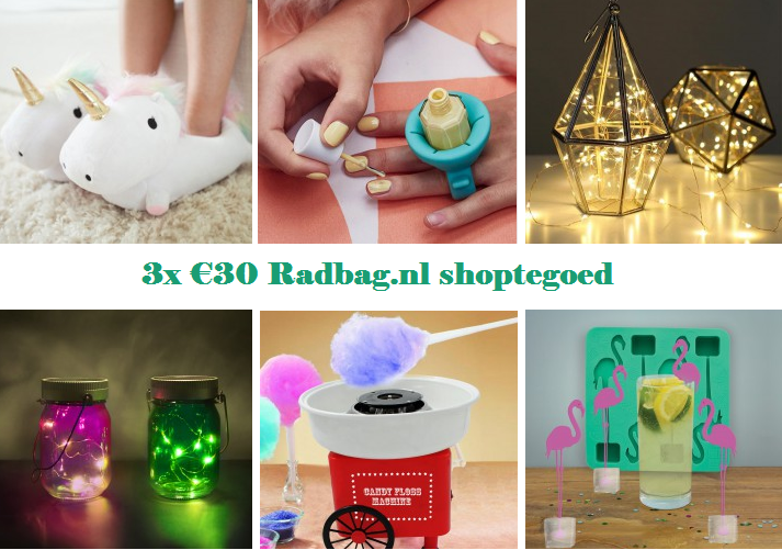 WINACTIE | 3x €30 shoptegoed bij Radbag!
