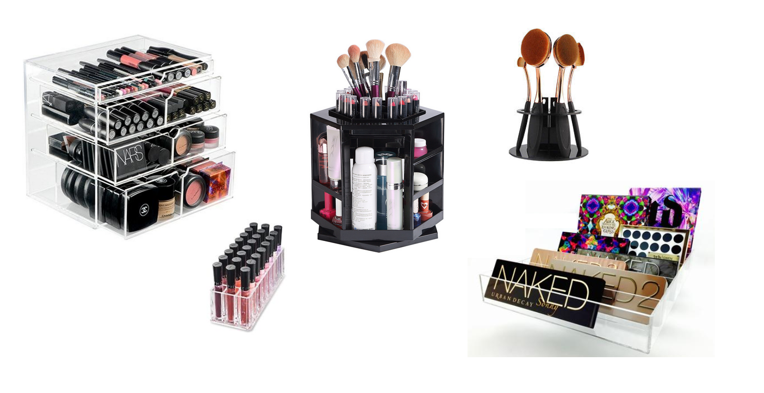 Handige, mooie & leuke make-up organizers