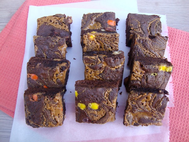 pindakaas brownies recept