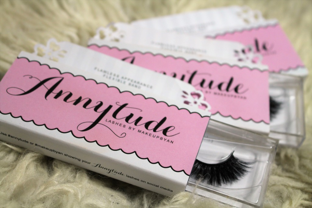 Annytude lashes wimpers make-up