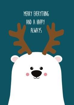 studio-inktvis-kerst-merry-everything-happy-always-ijsbeer-voorkant