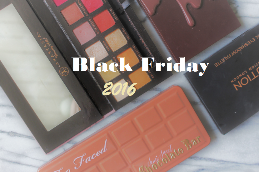 Black Friday 2016 | Beauty & make-up kortingen!