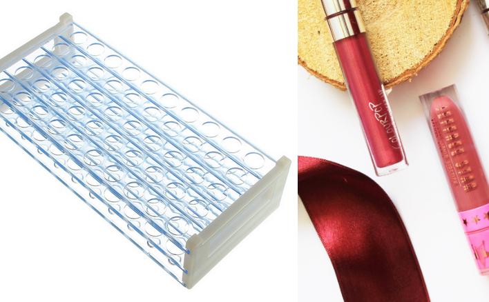 liquid lipstick organizer