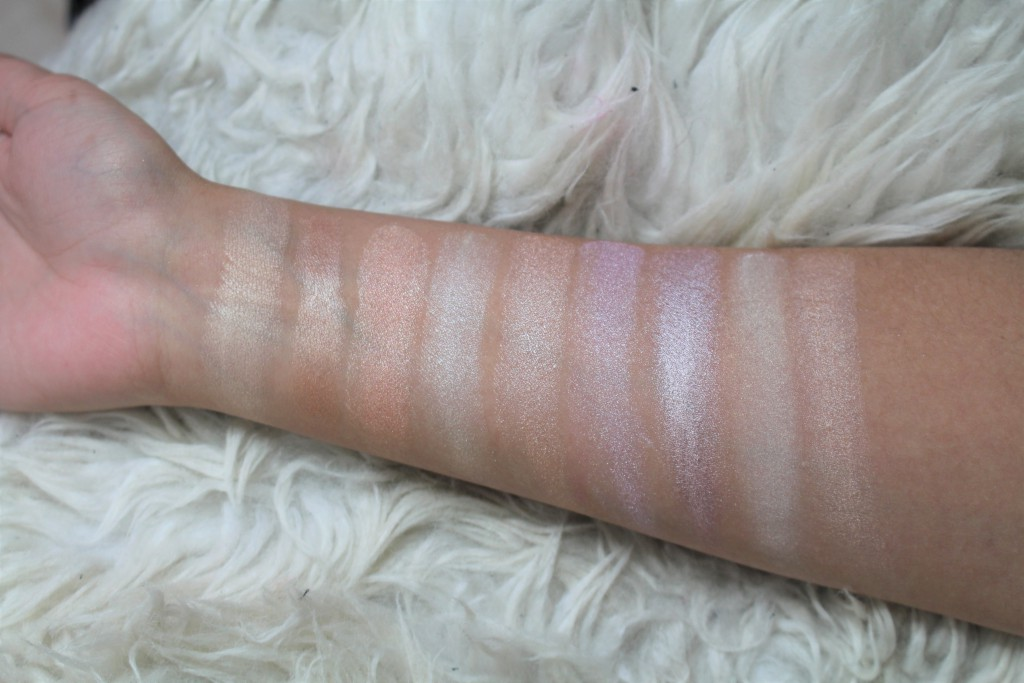 budget highlighter swatches