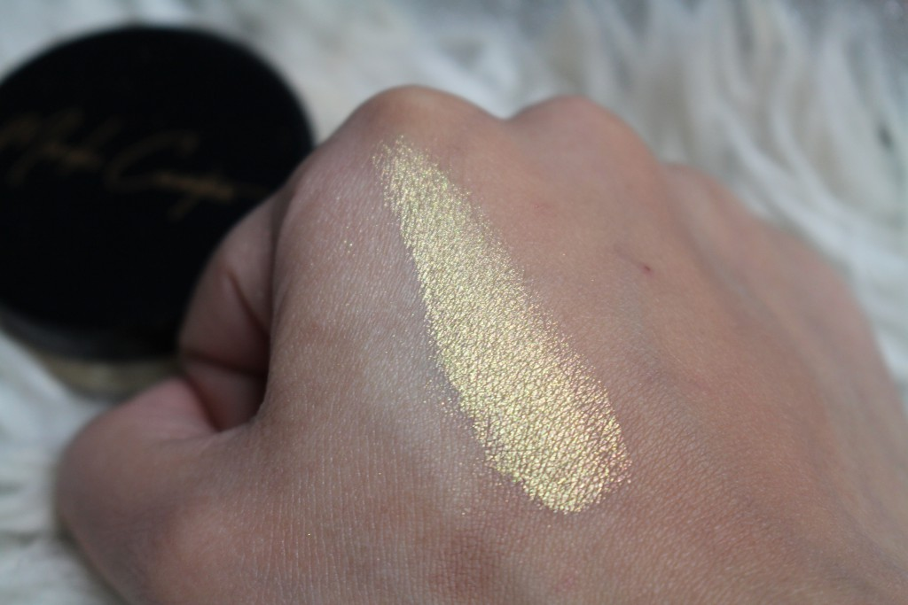 meraki cosmetics highlighter swatch review
