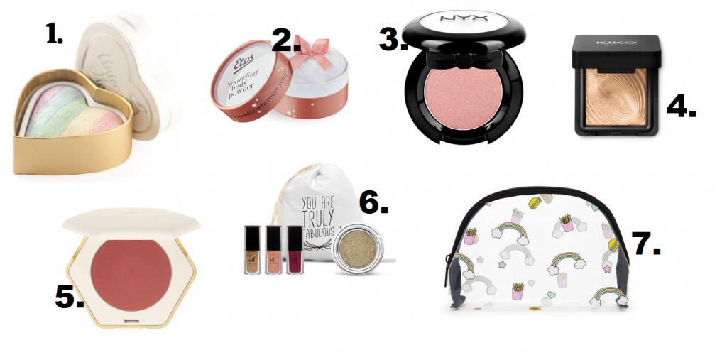 budget goedkope make-up cadeaus
