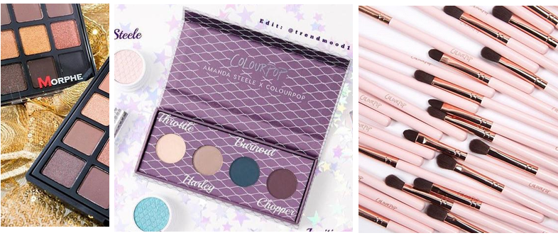 Make-up nieuwtjes & updates | Colourpop kwasten & palette?!