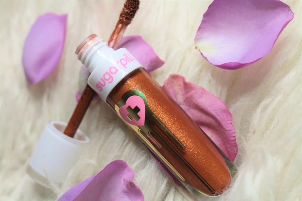 sugarpill pumpkin spice review liquid lipstick